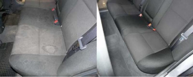Чем почистить сидения в автомобиле в домашних условиях