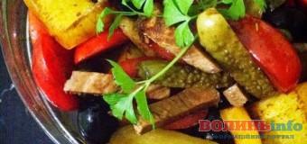 Дуже смачний салат Стамбул