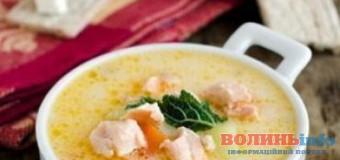 Сирний рибний суп