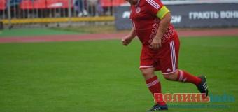 У Луцьку тренер Кварцяний вийшов на поле, щоб зіграти за свій клуб. ФОТО