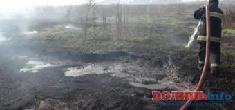 На Волині пожежі на торф'яниках ліквідовують пожежники разом з місцевими жителями
