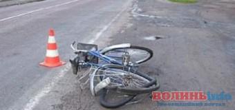 У Луцьку п'яний водій наїхав на велосипедиста