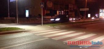 Де у Луцьку встановлюють спеціальне освітлення на пішохідних переходах