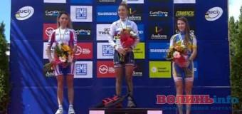 Волинянка – бронзова призерка чемпіонаті світу з велосипедного спорту
