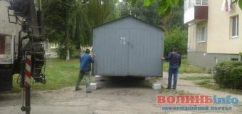 Де найближчим часом демонтуватимуть металеві гаражі у Луцьку