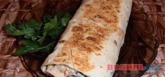 Шаурма з ковбасою