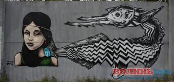 У Луцьку – нові графіті. ФОТО
