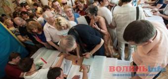 У волинській міліції розповіли про порушення під час виборів у області