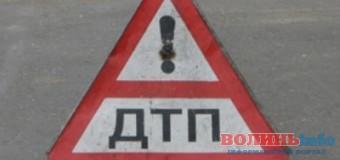 У Луцьку аварія неподалік Варшавського ринку