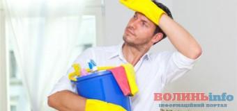 Скільки волинських чоловіків готові виконувати хатню роботу?