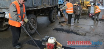 Лучани хочуть контролювати ремонт доріг та дворів у місті