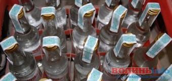 На Волині запобігли продажу двох тисяч літрів фальсифікованого алкоголю