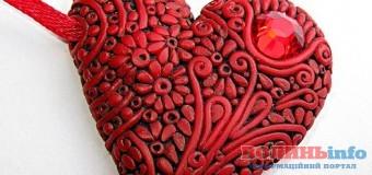 У Луцьку ліпитимуть керамічні серця