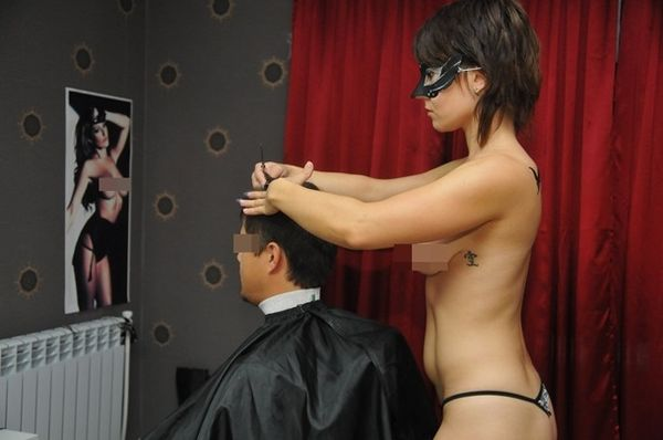 Голая парикмахерская фото 4172 фотография