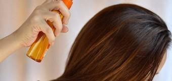 Еко-спрей для сухого волосся – робимо самі