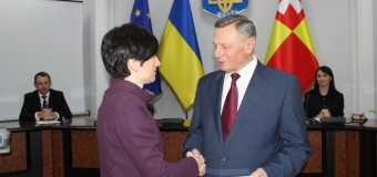Луцький мер вручив подяку Генеральному Консулу Польщі