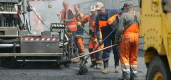 На дорозі «Луцьк–Львів» починають вкладати верхній шар покриття
