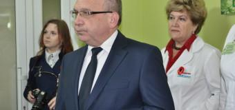 Володимир Гунчик відвідав військовий госпіталь