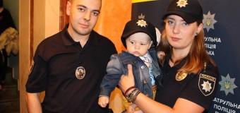 У Луцьку діти Героїв познайомились з патрульною поліцією