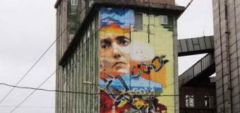 У Запоріжжі відкрили мурал з портретом Надії Савченко