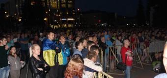 Тисячі лучан дивились перший матч України на «Євро-2016»