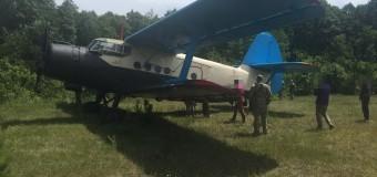 На Волині вилучили літак контрабандистів