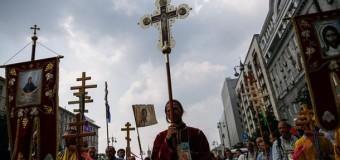 Понад 100 тисяч людей вийшли на Хресну ходу в Києві