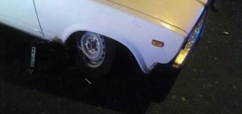 У Луцьку нетверезий водій «вискочив» на тротуар та пошкодив автівку