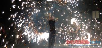 День Незалежності у Луцьку закінчили «вогненно». ФОТО