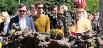 У Києві відкрили пам'ятник Богдану Ступці
