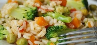 Різотто з овочами