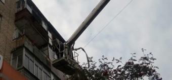 Лучани вчинили переполох через сусідку