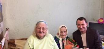 Луцьку довгожительку привітали зі 101 Днем народження