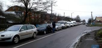 На Устилузі виник транспортний колапс