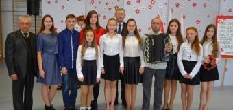 Волинські школярі привітали польських із Днем незалежності
