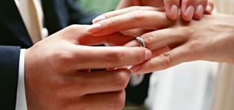 Повідомили, скільки пар на Волині одружилося протягом року