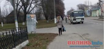 Жителі волинського прикордонного містечка нарікають на відсутність маршрутних рейсів