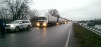 До Луганська прибув гуманітарний конвой ООН