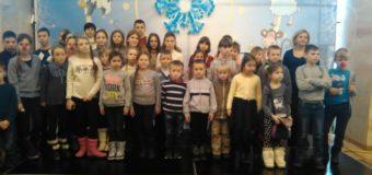 Діти загиблих луцьких бійців побували на новорічній виставі в Києві