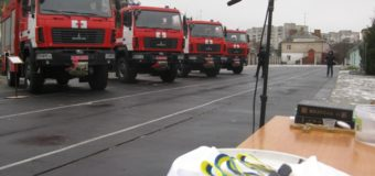 Луцьким пожежникам видали нову рятувальну техніку