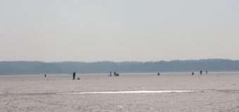На Шацьких озерах аншлаг рибалок