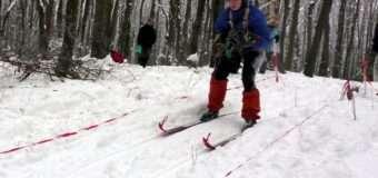 На околицях Луцька змагались туристи-лижники. ФОТО