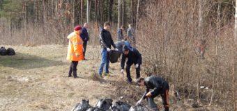 Весняна акція «Чистий ліс» об'єднала майже 4 тисячі волинян