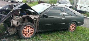 На Волині розбили викрадений автомобіль