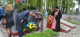 У Любешові вшанували пам'ять загиблих у Другій світовій війні. ФОТО