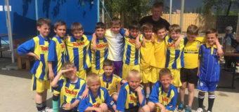 Луцькі футболісти взяли участь у Міжнародному турнірі «НТК Тайм». ФОТО
