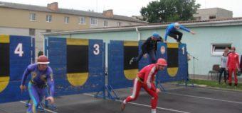 У Луцьку тривають обласні змагання з пожежно-прикладного спорту серед професійних рятувальників. ФОТО