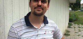 """Поліція Луцька розслідує побиття очільника """"Нацкорпусу"""" Волині"""