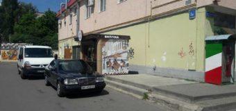 У Луцьку виявили незаконний кіоск. ФОТО