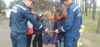 На Волині рятувальники провели профілактичну роботу з питань безпеки на воді. ФОТО